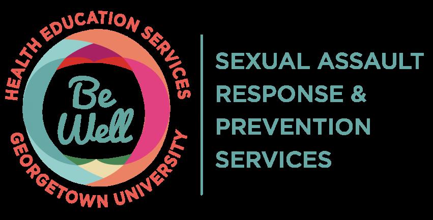 Georgetown University Be Well Logo